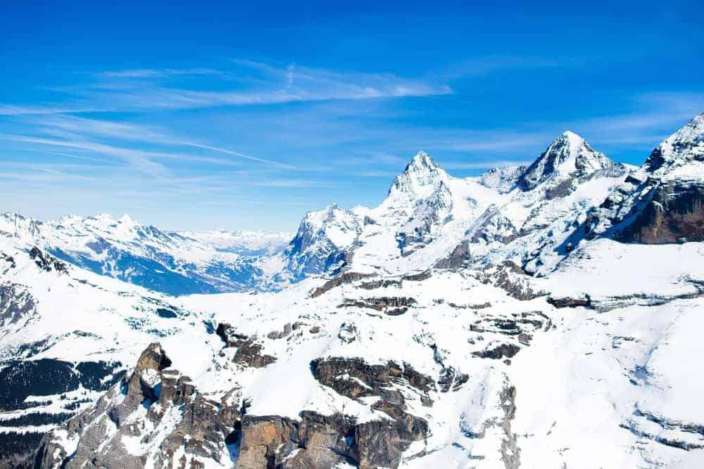 Mountainous glaciers