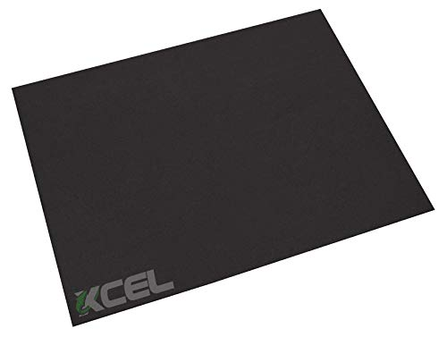Xcel High Performance DIY Gasket Material Closed Cell Epichlorohydrin (ECH) Sponge Rubber Sheet 9