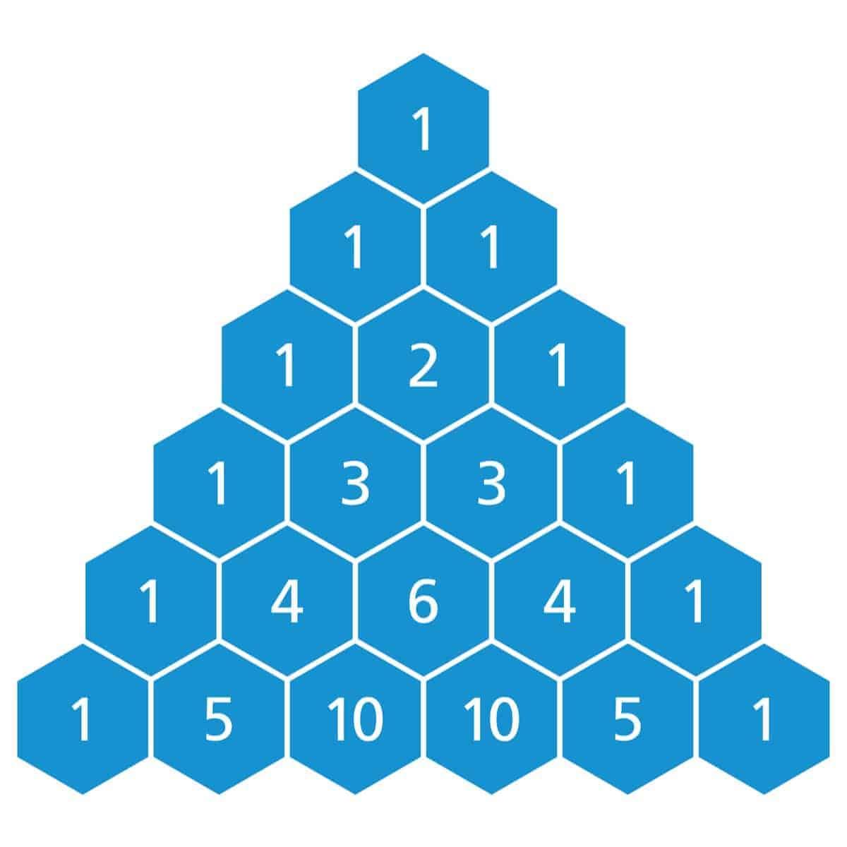 Blue-Colored Triangle