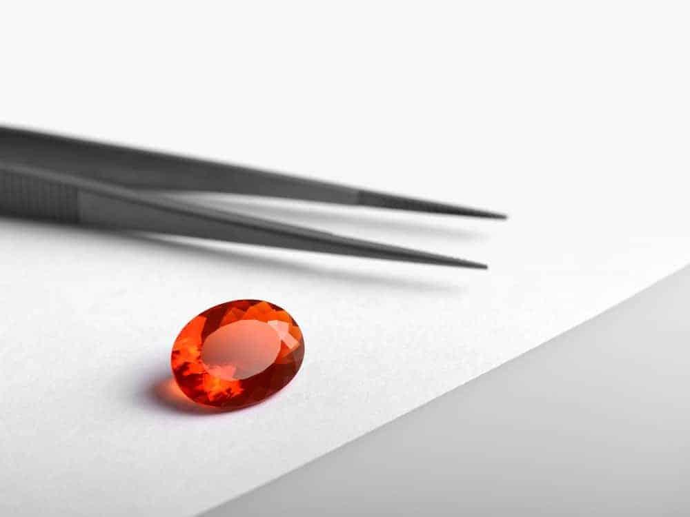 Mexican Fire Opal Gemstone
