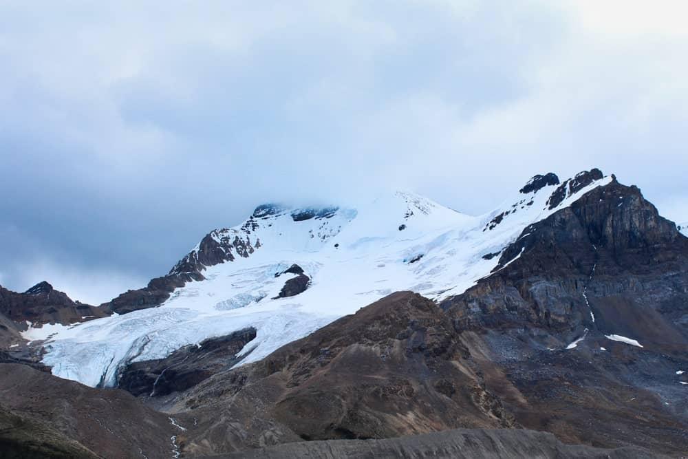 Glacier on mountains