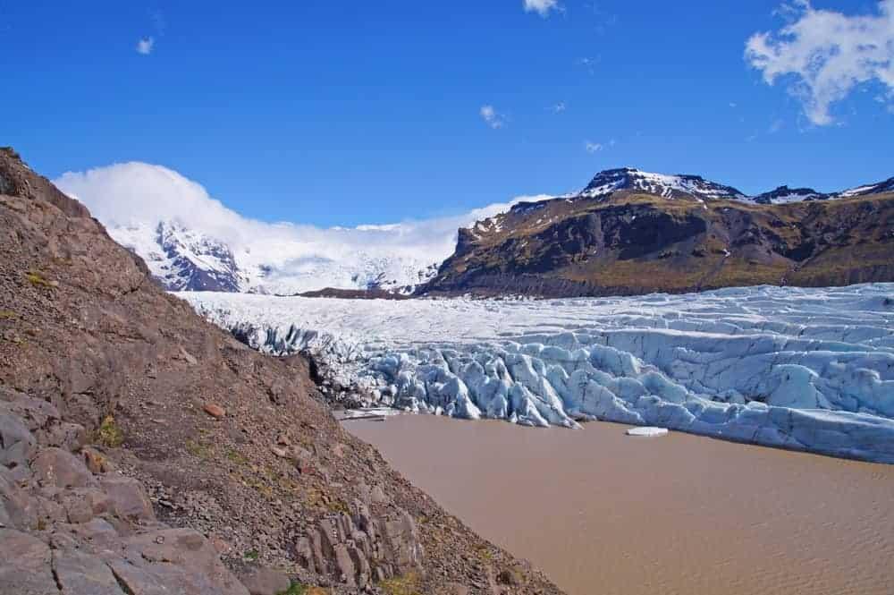 Outlet glacier in Europe