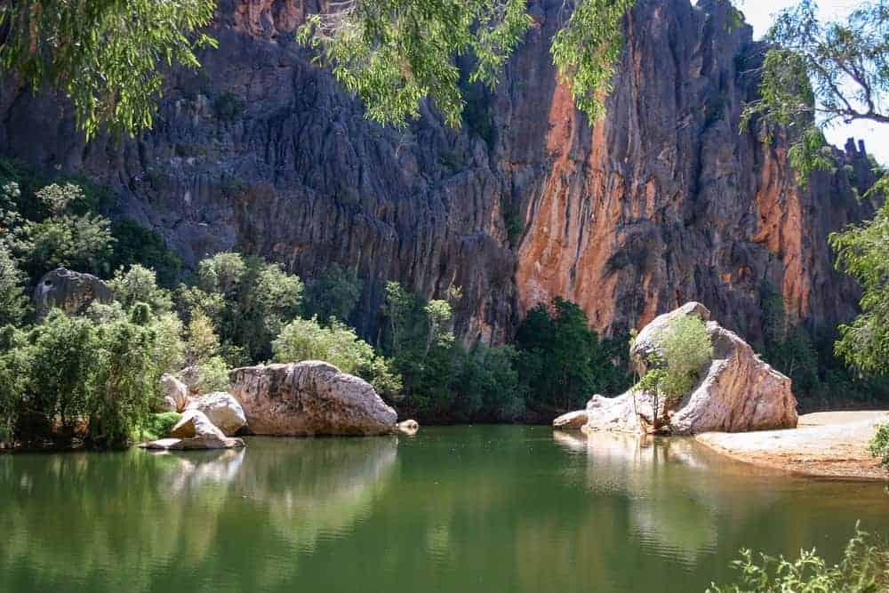 Lennard River in Australia