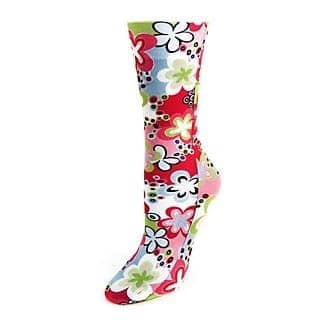 Floral boot socks